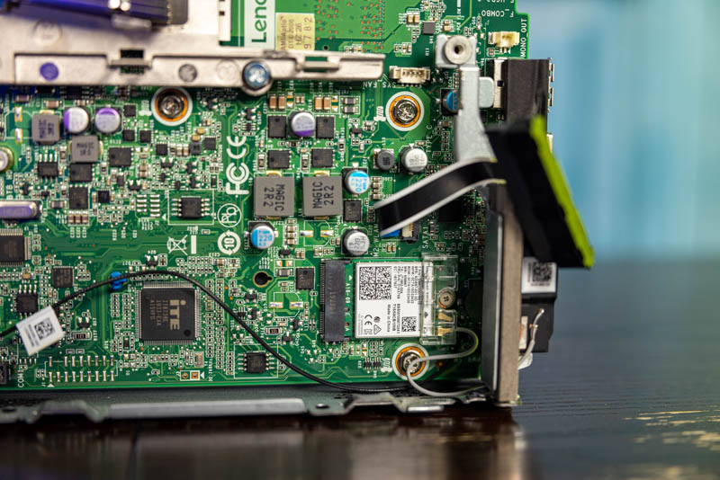 Lenovo M75q 1 Tiny Front Ports