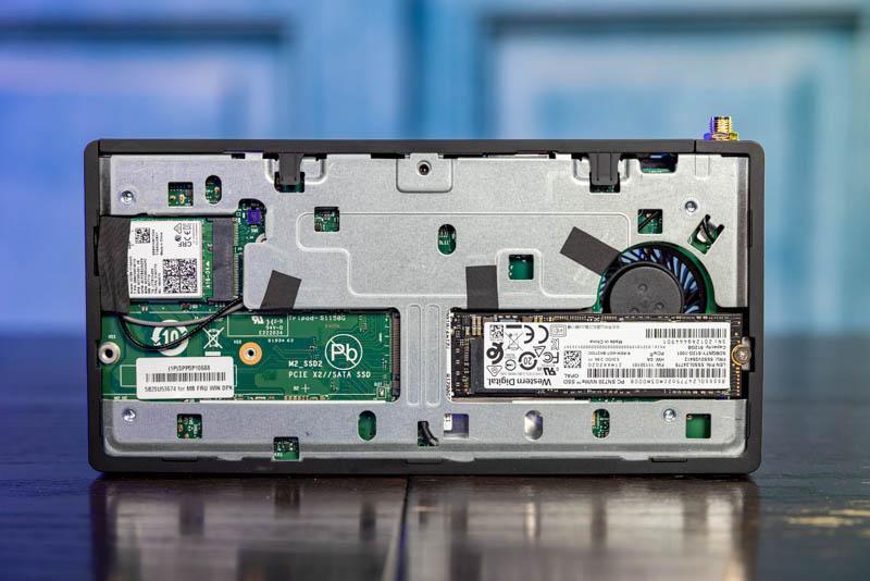 Lenovo M90n Nano Internal Bottom