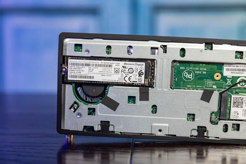 Lenovo M90n Nano Internal WD NVMe SSD