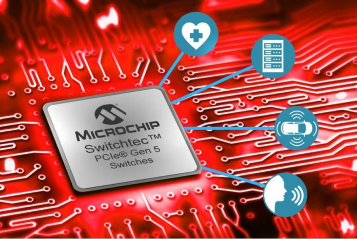 Microchip Switchtec PCIe 5.0 Switch Cover