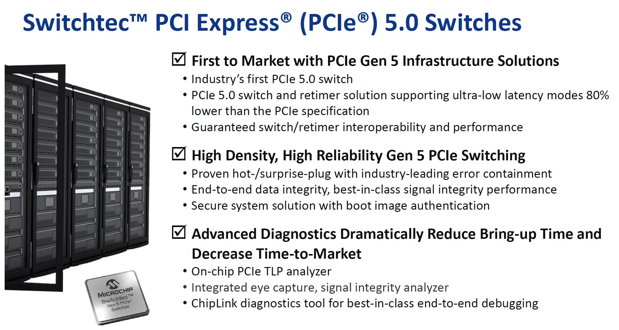 Microchip Switchtec PCIe 5.0 Switch Overview