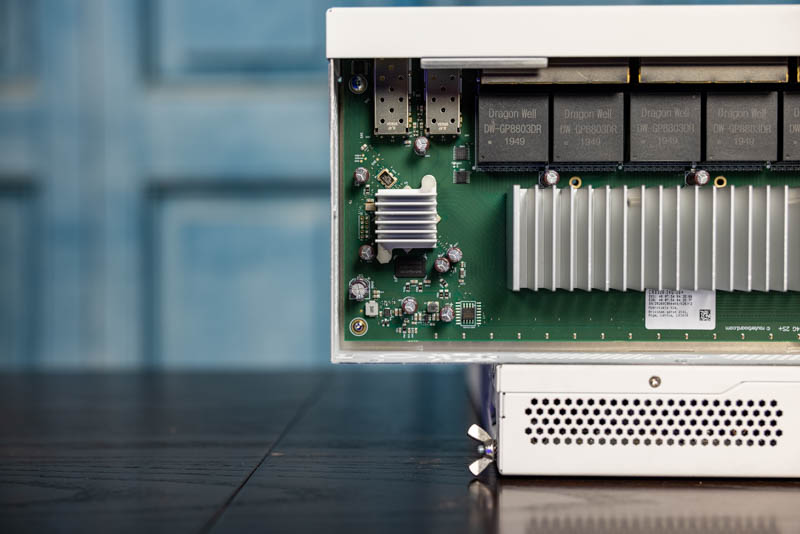 MikroTik CRS326 24G 2S+IN New Heatsink