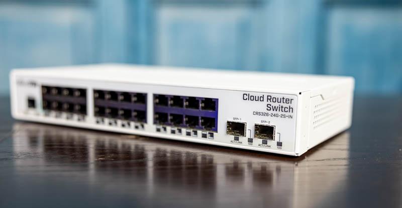MikroTik CRS326 24G 2S+IN SFP+ Ports