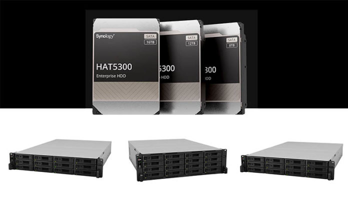 Synology HAT5300 And Enterprise NAS Cover