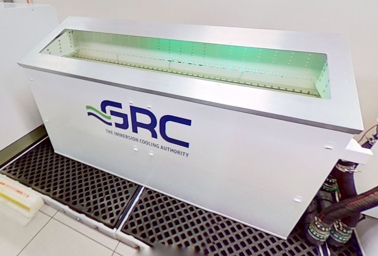 TACC Data Center Tour 2021 Matterport GRC Liquid Immersion Cooling
