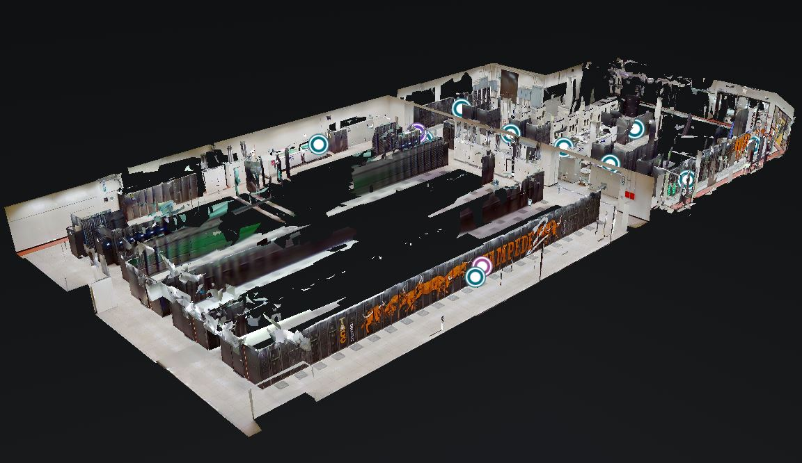 TACC Data Center Tour 2021 Matterport Overview