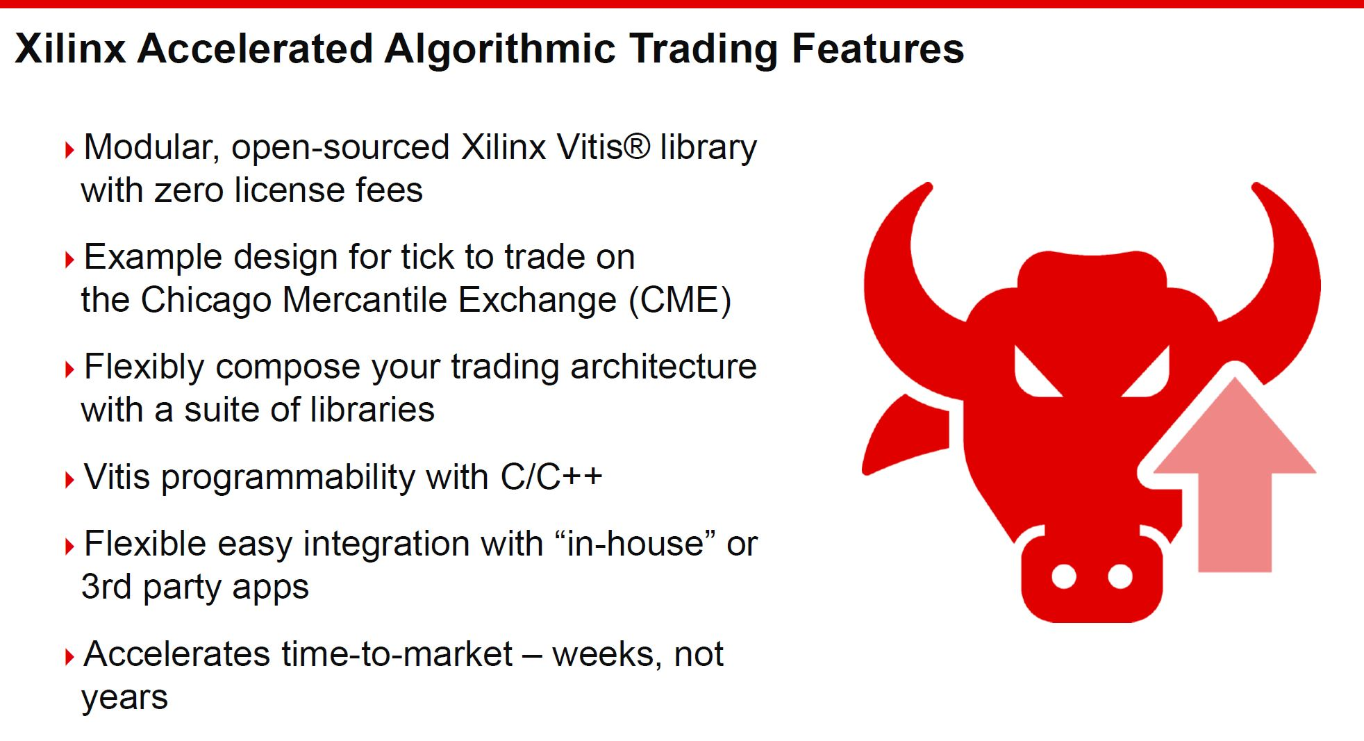Xilinx Accelerated Algorithmic Trading Solution