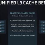AMD EPYC 7003 SoC Architecture Unified Cache