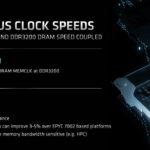 AMD EPYC 7003 SoC Synchronous Clock Speeds