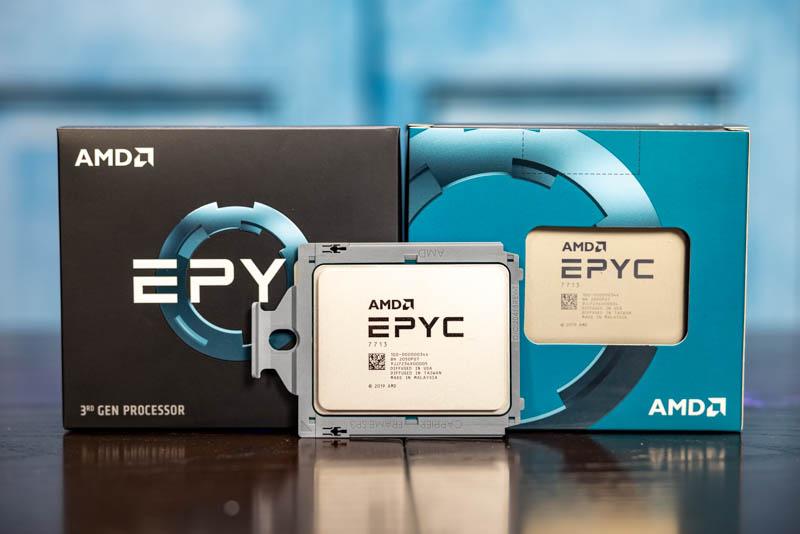 AMD EPYC 7003 Series 1P Only SKU Comparison With EPYC 7002