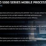 AMD Ryzen PRO 5000 Series Mobile Highlights