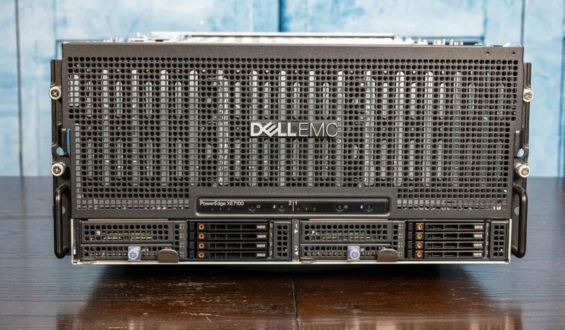 Dell EMC PowerEdge XE7100 Front