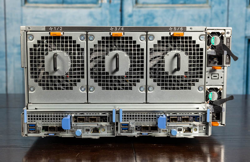 Dell EMC PowerEdge XE7100 Rear 2