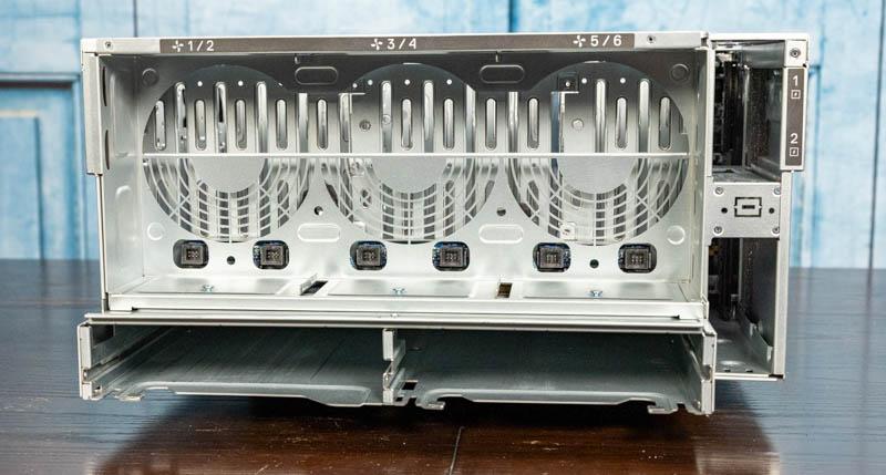 Dell EMC PowerEdge XE7100 Rear No Components
