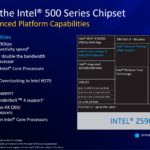 Intel 11th Gen Core Desktop Rocket Lake S 500 Series Chipset