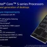 Intel 11th Gen Core Desktop Rocket Lake S New Features