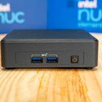 Intel NUC11TNKi5 Front