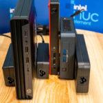 Intel NUC11TNKi5 Lenovo M90n Nano HP EliteDesk 800 1