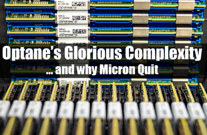 Intel Optane Glorious Complexity Cover