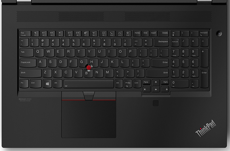 Lenovo Thinkpad P17 Keyboard