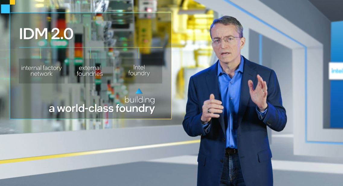 Pat Gelsinger Intel CEO Intel Foundry