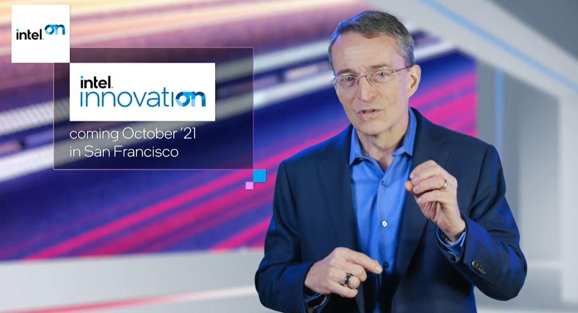 Pat Gelsinger Intel CEO Intel Innovation Oct 21
