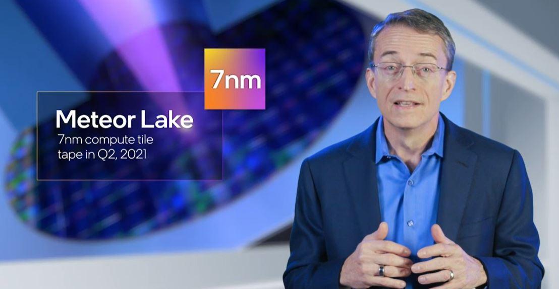 Pat Gelsinger Intel CEO Meteor Lake 7nm