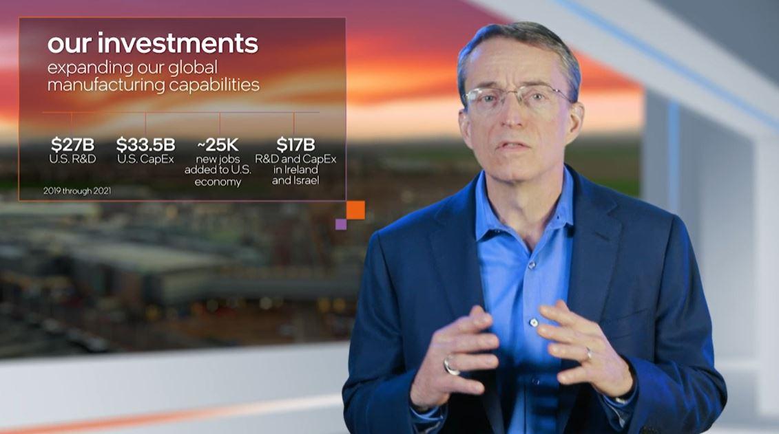 Pat Gelsinger Intel CEO RD 2021