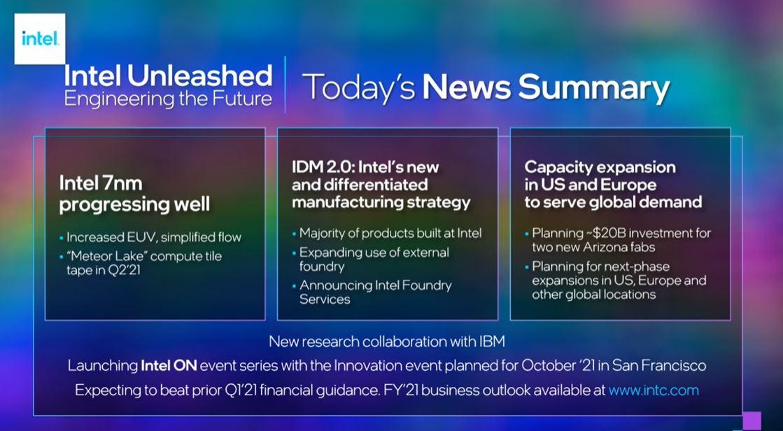 Pat Gelsinger Intel CEO Summary