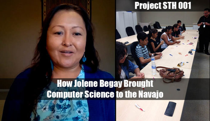 Project STH 001 How Jolene Begay Brought Computer Science To The Navajo Web Cover
