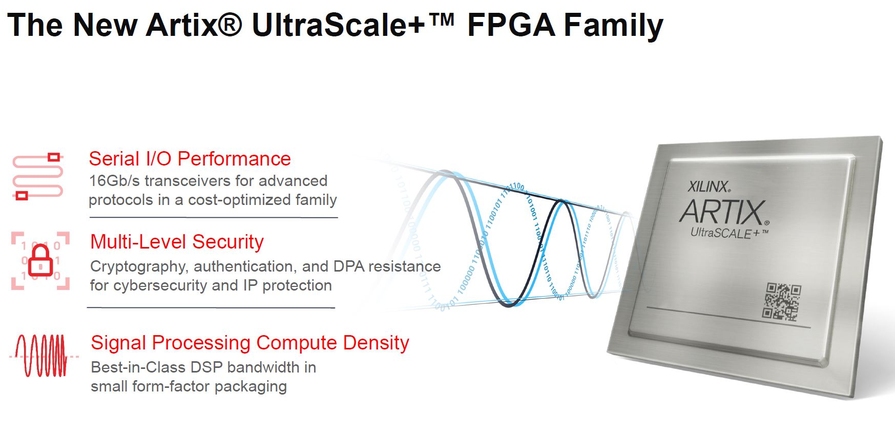 Xilinx Artix UltraScale+ Cost Optimized Portfolio