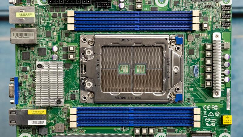ASRock Rack ROMED6U 2L2T CPU And Memory