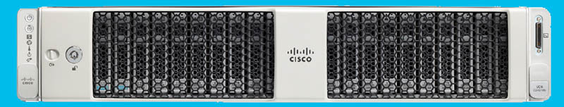 Cisco UCS C240 M6 Front