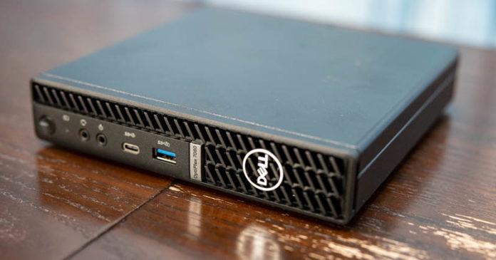 Dell OptiPlex 7080 Micro Angle