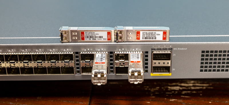 FS S5860 20SQ 10G And 25G SFP