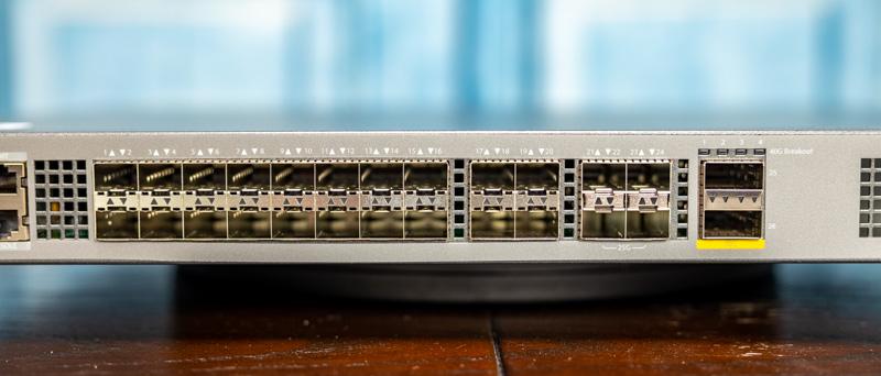 FS S5860 20SQ Ports