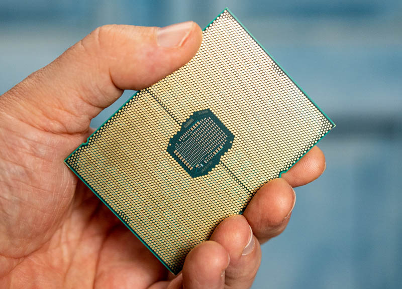 Intel Ice Lake Xeon In Hand
