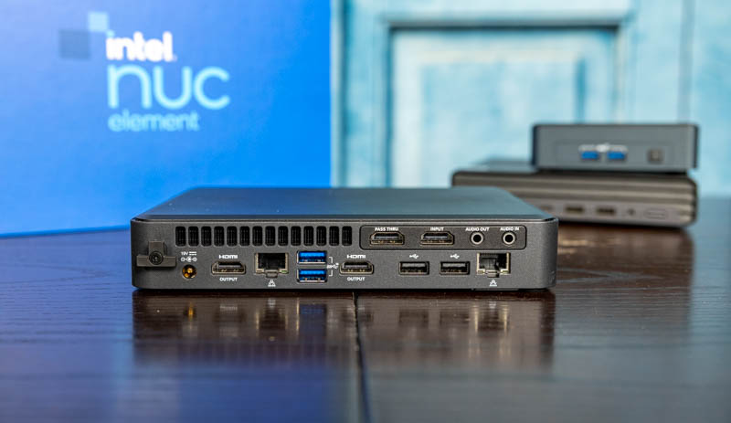 Intel NUC 11 Element Rear 1