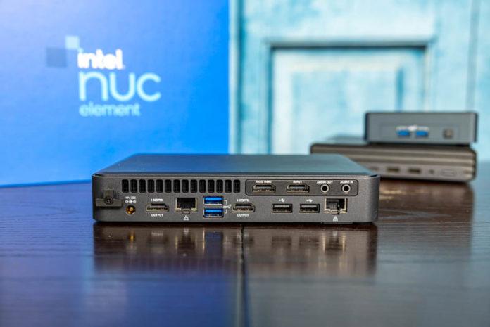 Intel NUC 11 Element Rear 3