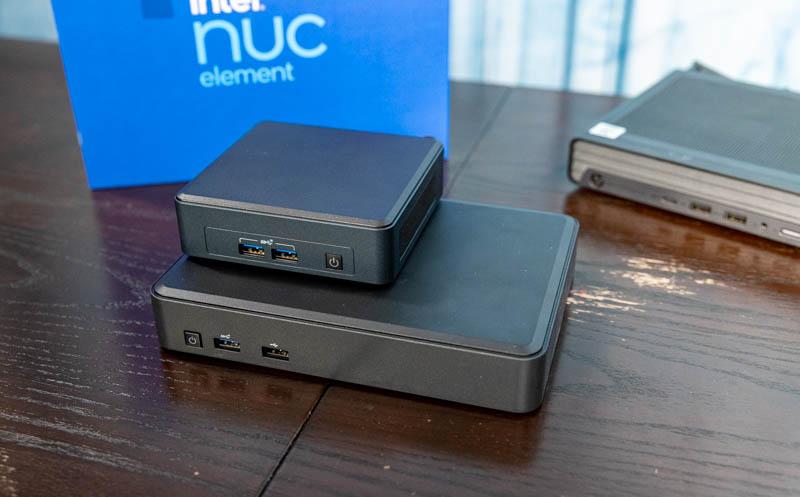 Intel NUC 11 Element With Intel NUC 11 Pro