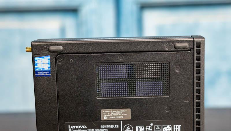 Lenovo ThinkCentre M90q Tiny Bottom Lid Vent For M.2