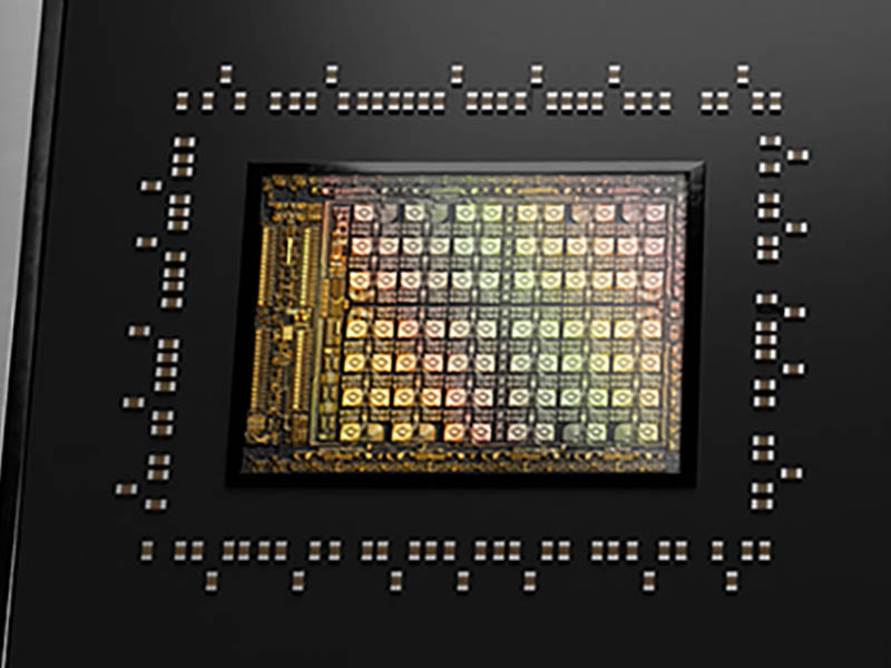 NVIDIA Grace GTC 2021 Chip Close Up