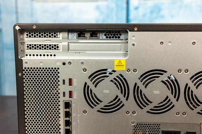 QNAP TVS H1288X Dual 10Gbase T