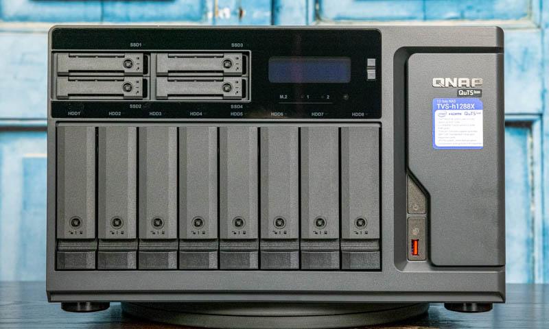 QNAP TVS H1288X Front 1