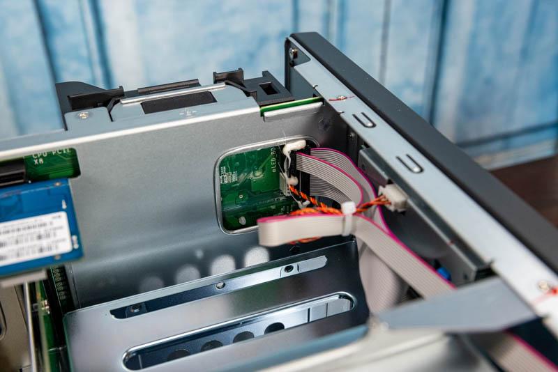 QNAP TVS H1288X Internal LCD Connection