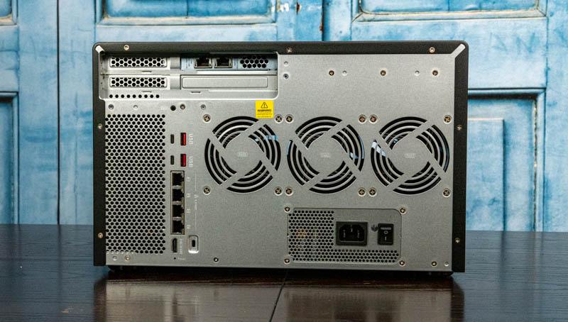 QNAP TVS H1288X Rear