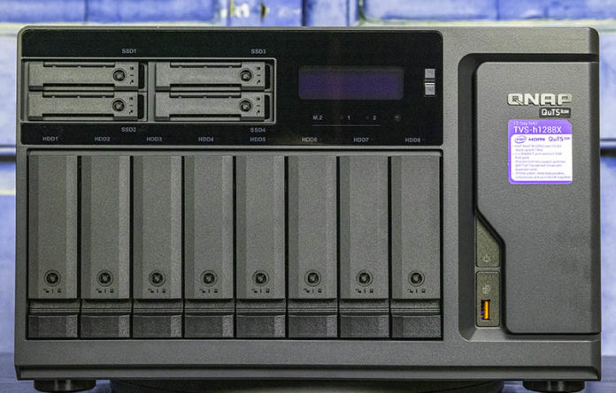 QNAP TVS H1288X Review Cover Web