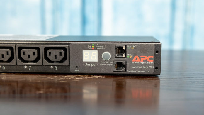 Schneider Electric APC 7921B Meter And Management