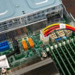 Supermicro AS 1024US TRT Connectors Near PSU