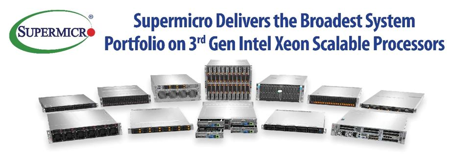 Supermicro X12 Ice Lake Product Family